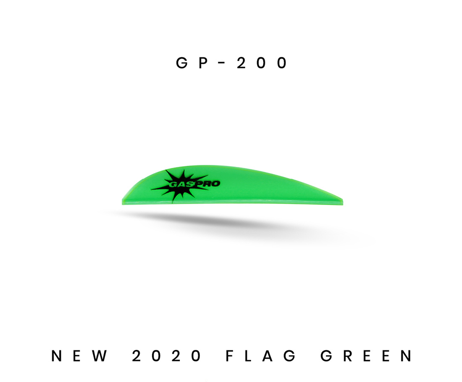 GAS PRO VANES GP-200 DAVE COUSINS SERIES COMBO GLUE FLAG GREEN